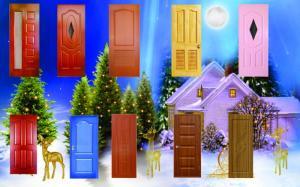 Hậu Noel mua cửa tưng bừng