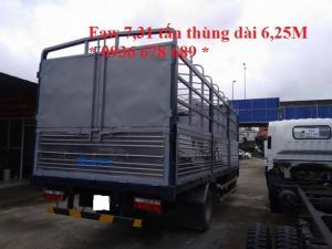 Xe tải faw gm 7,31 tấn thùng dài 6,25m.Giá rẻ nhất toàn quốc
