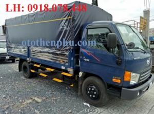 Xe tải HD99 thùng dài 4m9, trọng tải 6,5 tấn - Hỗ trợ 85%, giá cả ưu đãi