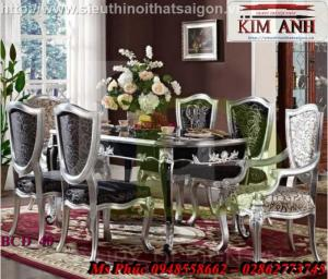 bàn ghế ăn tân cổ điển