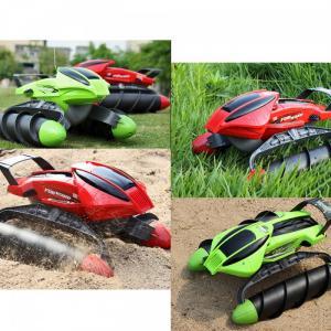 Xe Điều Khiển Chạy Được Dưới Nước Amphibious Stunt Car. Dòng xe thiết kế độc đáo mô phỏng Xe Quân Sự Của Mỹ ,Với thiết kế bánh xe thông minh xe có thể chạy được cả trên bờ lẫn dưới nước , trong bùn lầy hoặc trên cát