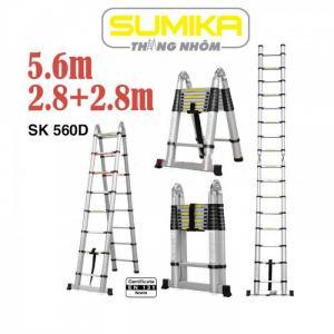 Thang nhôm rút gọn SUMIKA SK560D