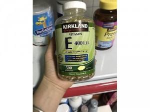 Vitamin E Thiên Nhiên 400 I.U Kirkland