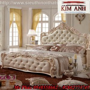 Giường ngủ cổ điển giá rẻ sản xuất theo yêu cầu tại Gò Vấp