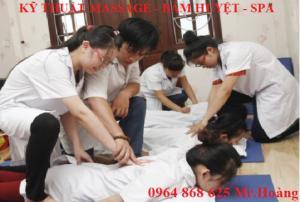 Địa chỉ dạy xoa bóp bấm huyệt vật lý trị liệu tại Hà Nội