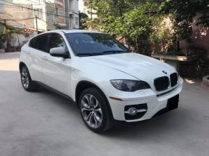 Bán xe BMW X6 xdrive sx 2008 đk 2009 màu trắng đã đi 72.000km