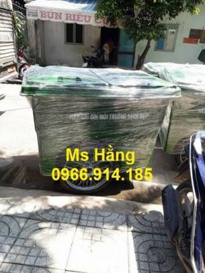 Xe thu gom rác bệnh viện, xe đựng chất thải sinh hoạt