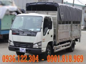 Xe tải ISUZU 1T4 2T4 QKR55F - Xe ISUZU  1T9 2T2 QKR55H thùng bạt thùng kín đóng theo yêu cầu
