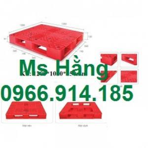 Tuyển cộng tác viên kinh doanh Pallet nhựa PL09LK hoa hồng cao