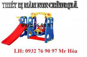Cầu trượt mini nhập khẩu với đầy đủ kích thước, mẫu mã cho bé vui chơi