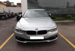 BMW 320i LCI sản xuất 2015 màu Bạc, Nội Thất Đen, Biển Hà Nội