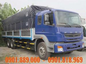 Xe tải Fuso 15 tấn nhập khẩu màu xanh