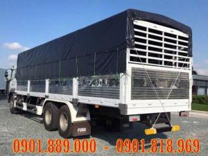 Xe tải Fuso FJ thùng mui bạt dài 9m