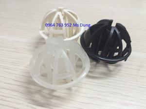 Giá thể vi sinh dạng cầu nhỏ 50mm/ Đệm vi sinh dạng cầu nhỏ 50mm