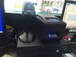 Trọn bộ # các sản phẩm máy tính tiền dùng cho shop hóa mỹ phẩm - văn phòng phẩm - siêu thị ..vvv