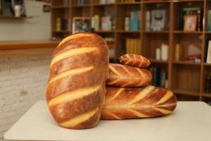 Gối 3D Bánh Mì vải nỉ không xù không ra màu kích thước 40cm - MSN1831065