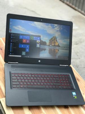 Laptop Hp Omen 17, i7 7700HQ 12G SSD128+1000G Vga GTX1050ti Full HD Full Box New Giá rẻ