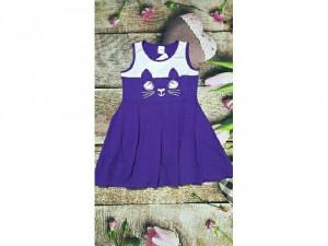 Đầm thun mèo