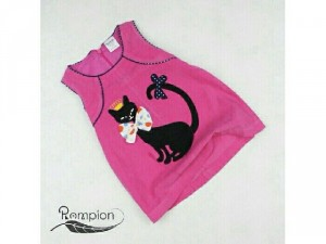 Đầm nhung mèo