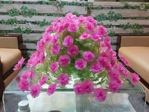 Hoa giấy lụa (trang trí tết)