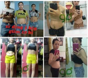 Giảm Cân Golean Detox, giảm 10kg sau khi dùng 3 hộp Triệt tiêu mỡ, giảm béo, đặc biệt vùng bụng, đùi và bắp tay