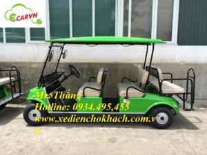 Bán xe điện du lịch club car 6 chỗ