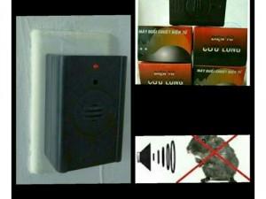 Máy đuổi chuột sử dụng sóng siêu âm