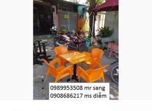 Chuyên sản xuất bàn ghế cafe hgh03