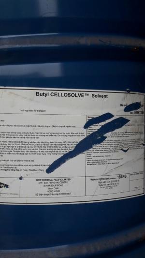 Bán Butyl Cellosolve BCS. 188kg Dow. Mỹ