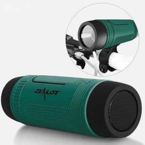 Loa Bluetooth Kiêm Sạc Dự Phòng Và Đèn Chiếu Sáng Zealot S1