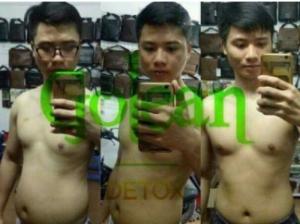 Giảm cân nhanh Giảm 10 Kg chỉ trong 28 ngày với trà thảo mộc Giảm Cân Golean Detox