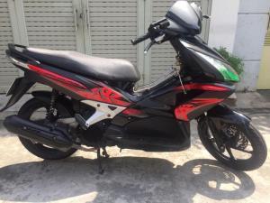 Honda Air Blade VN lên thái màu đỏ đen, nguyên zin