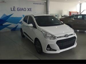 Hyundai Grand i10 1.0 AT, hỗ trợ vay 85% giá trị xe tại Hyundai Đắk Lắk.