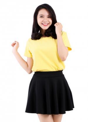 Áo thun màu vàng giá bỏ sỉ TPHCM