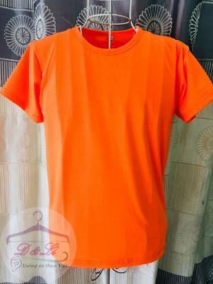 Áo thun màu cam giá sỉ TPHCM