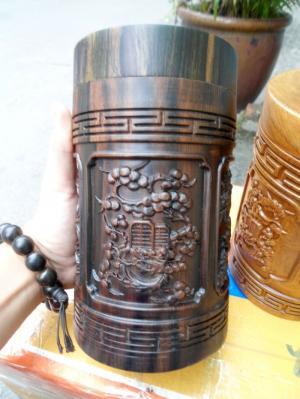 Hộp trà gỗ mun - MN10