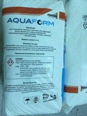 Công ty Dylan phân phối Aquaform, acid hữu cơ hỗ trợ tiêu hóa