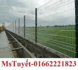 Lưới thép hàng rào, hàng rào mạ kẽm điện phân, sơn tĩnh điện