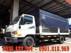 Xe tải Hyundai 8 tấn HD120s thùng mui bạt