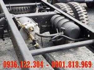 Hệ thống hơi trợ lực phanh xe tải Hyundai HD120s
