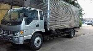 xe tải JAC 6 tấn thùng kín