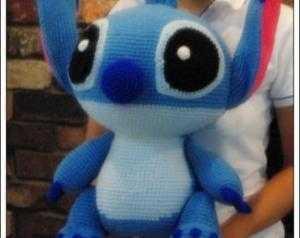 Chó Stitch Disney móc len ( Big size 50cm )