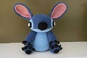Stitch Disney Medium size 30cm móc len