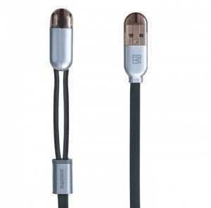 Cáp sạc 2 đầu lightning và micro USB Remax RC-025T - MSN388302