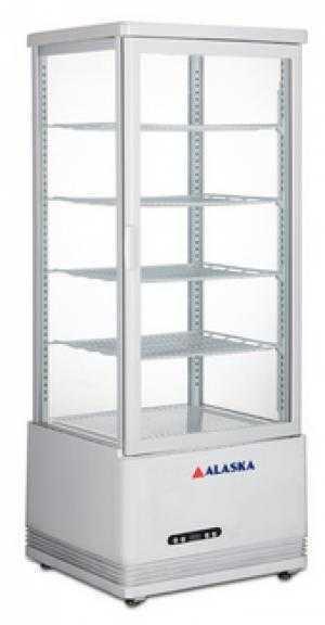 Tủ mát 120 lít Alaska LC-120 (4 mặt kính trong suốt)