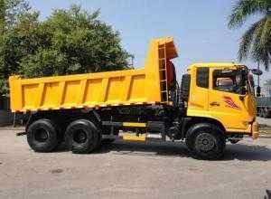 Bán xe ben 3 chân Dongfeng Hoàng Huy 24 tấn