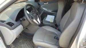 Bán Hyundai Accent 1.4AT màu bạc số tự động nhập Hàn Quốc 2012 biển Sài Gòn đi 22000km
