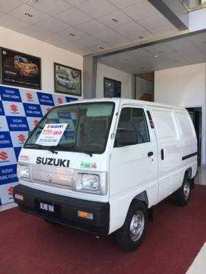 Suzuki Blind Van - tiện lợi, kinh tế - mới 100% + khuyến mãi hấp dẫn