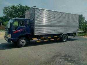 Xe tải Jac 6,4 tấn thùng mui bạt, nhà máy thanh lí giá rẻ