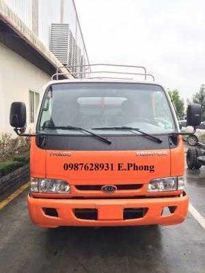 Xe tải KIA k165 tải trọng 2,4 tấn sơn Maket thùng mui bạt, hỗ trợ trả góp 70%